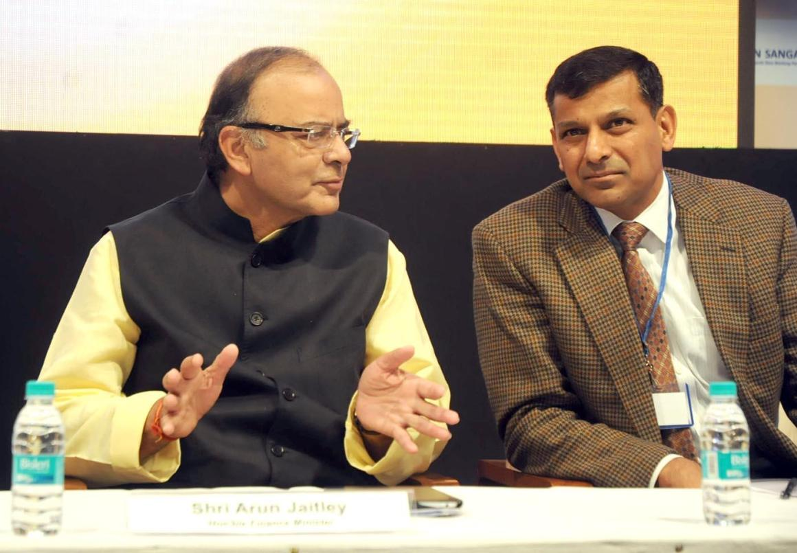 Full text of jaishankar telling china not to fear indias rise business standard - File Photo Of Finance Minister Arun Jaitley With Rbi Governor Raghuram Rajan Credit Ians