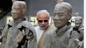 Prime Minister Narendra Modi during his visit to China in May 2015. Credit : PTI